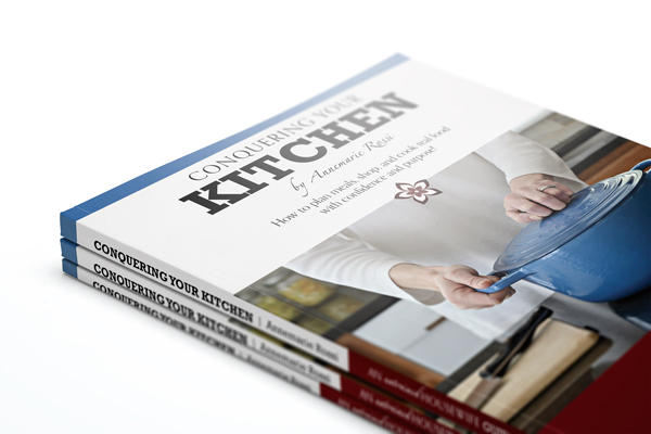 Cover Jacket Design | Conquering Your Kitchen