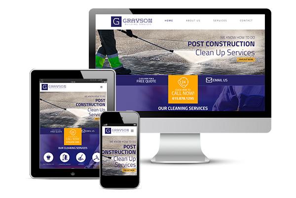 Service Business Branding & Website